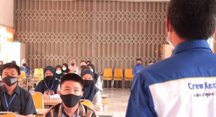 Latihan Dasar Kepemimpinan OSIS MPK Periode 2020/2021